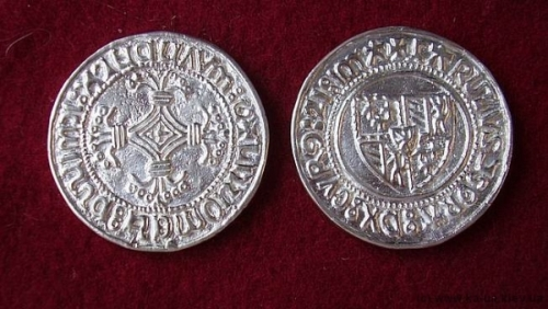Silvered coin, Double stuver