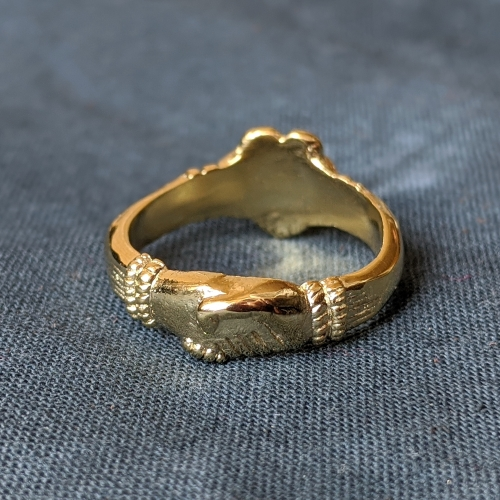 Medieval fede ring ER05 by ArmourAndCastings