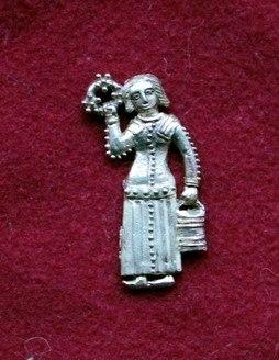m71 Medieval piligrim badge