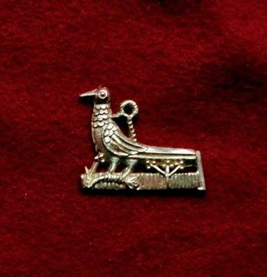 m76  Medieval piligrim badge