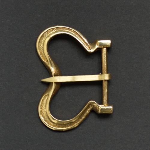 Medieval buckle, Flanders E22
