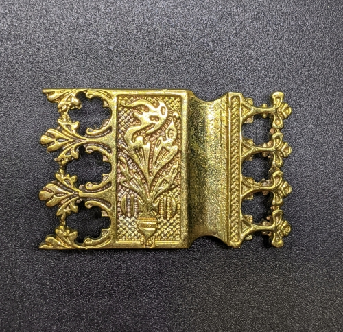 Strapend from the belt of Eric of Pomerania, Sweden EX44