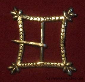 Medieval buckle, England E03-3