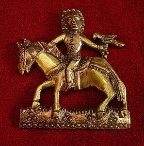 "M42 ""Falconry"" medieval piligrim badge"