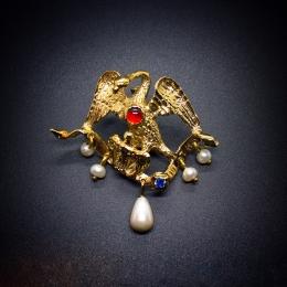 """""""Pelican"""" medieval brooch EA17"""