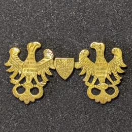 Medieval cape clasps, Germany EA24