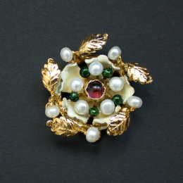 Medieval brooch from the Cleveland Necklace EA34