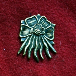 m87 Medieval piligrim badge