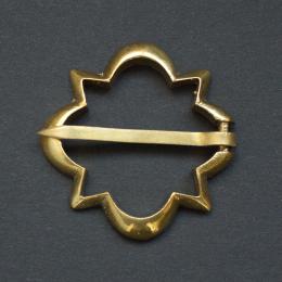 Medieval brooch, Western Europe