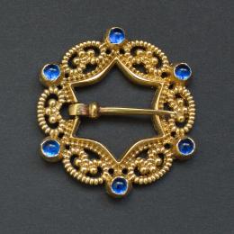 Medieval brooch, Europe