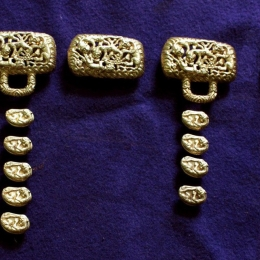 Mongol-Tatar Belt set from Olen-Kolodez