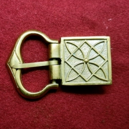 Medieval buckle with mount, Germany EK38