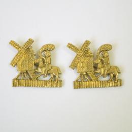 2 x  m80 Medieval pilgrim badge
