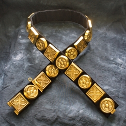 European medieval knight belt