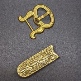 Small Rus belt set  from Shestovitsa, 10 c.