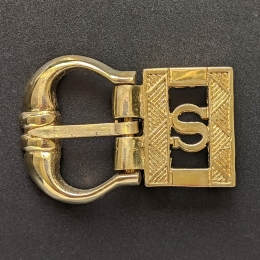Medieval buckle with mount, England EK37