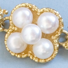 Pearl link from Elisabeth  of Austria jewelry set