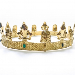 Medieval crown 5 by ArmourAndCastings