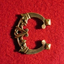 Medieval buckle with mount, Sweden EK130 by ArmourAndCastings