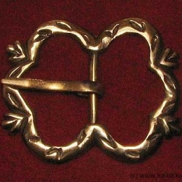 Medieval buckle, England E13-3