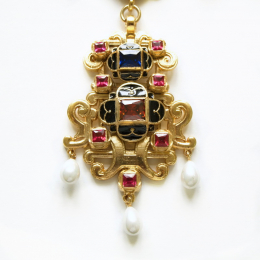 Pendant from the portrait of Eleonora di Toledo
