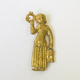 m71 Medieval pilgrim badge (stock)