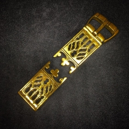 Belt set, France, 15c, 24mm