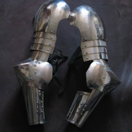 Steel articulated arms