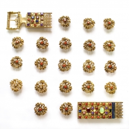 Elizabeth of Luxembourg belt set