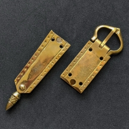 Medieval belt set, England, 14-15th cent.