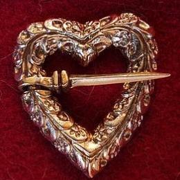Medieval brooch, England EA06