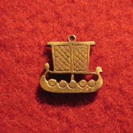 "SP02 ""Viking's ship"" Pendant"