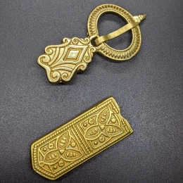 Rus small belt set, 13 c.