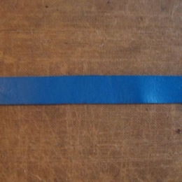 Leather Straps: Blue - up to 30 mm