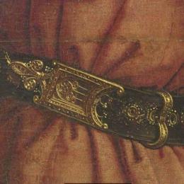 Buckle from Ghent Altarpiece EK76