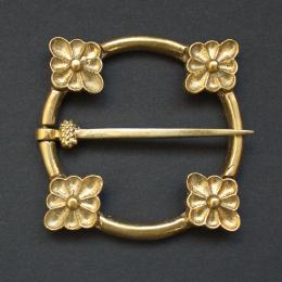 Medieval ring brooch, England