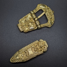 Scandinavian belt set, Birka, 10 c.