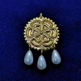 Medieval Brooch ea18