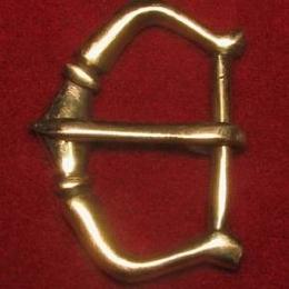 Medieval buckle, England E07-3
