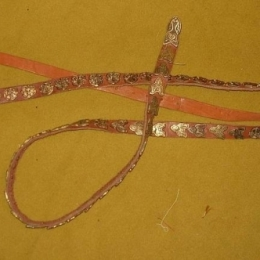 Rus leather belt from Gnezdovo  160  RBS08X