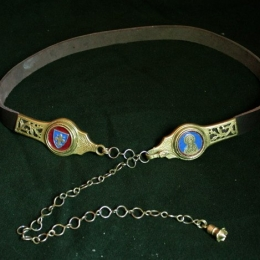 Medieval belt for woman EBD12