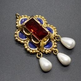 Burgundian brooch-pendant ea51