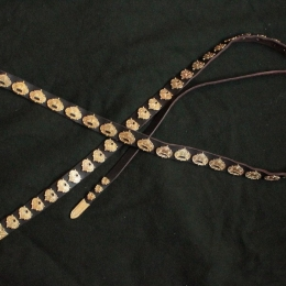Rus leather belt from Kiev  RBS06X