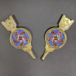 Medieval female belt strapends, Flanders EX88