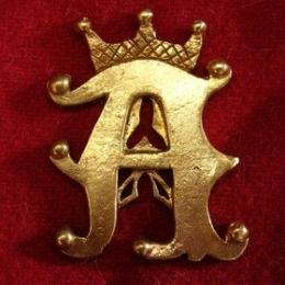 """M41 """"A"""" medieval piligrim badge"""
