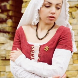 15th Century Linen Medieval Kirtle