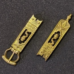 Medieval belt set, England, 14-15c.