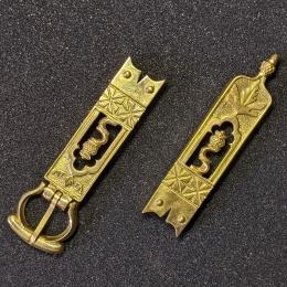 Medieval belt set, England, 14-15c.