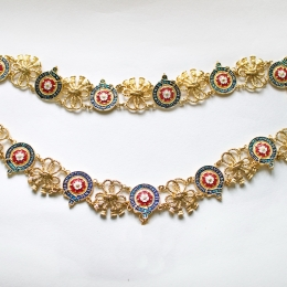 Order of the Garter collar without pendant, England, 15th c.