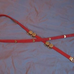 Mongol-Tatar Leather belt from Kovalevka